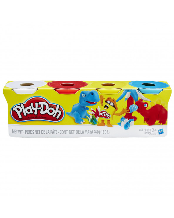 Play-Doh Pack De 4 Latas