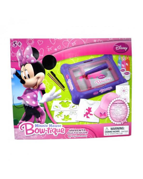 Disney set de juego de maquina impresora Minnie Mouse