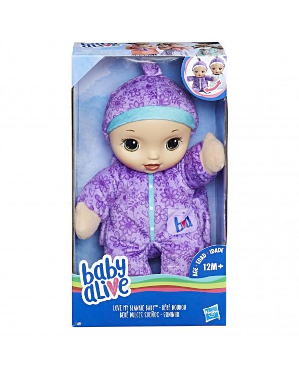 Baby Alive Bebé Dulces Sueños (Castaña)