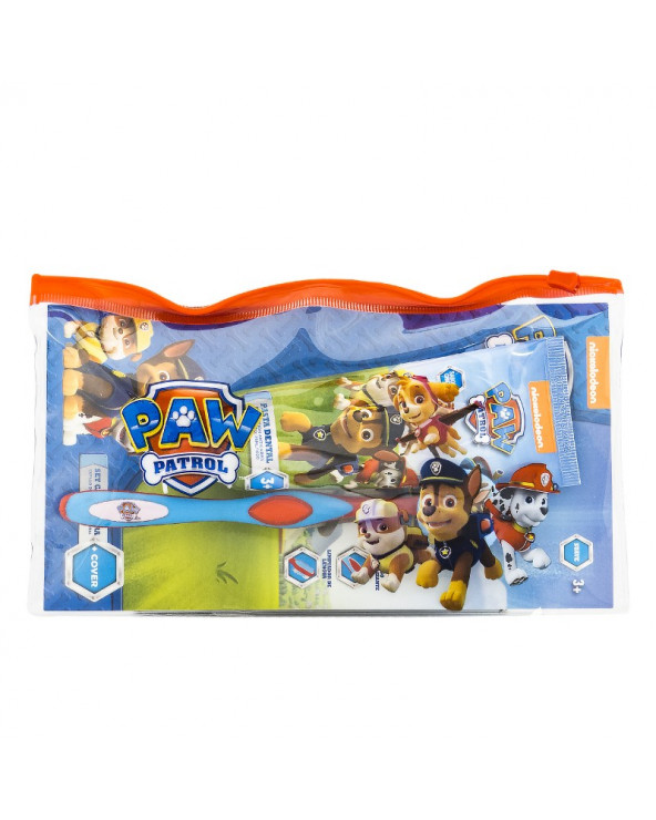 Paw Patrol Cepillo Dental 360 + Pasta + Cartuchera