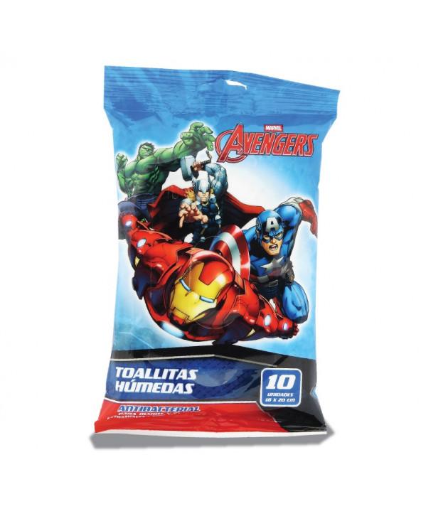 Avengers Toallas Húmedas x 10