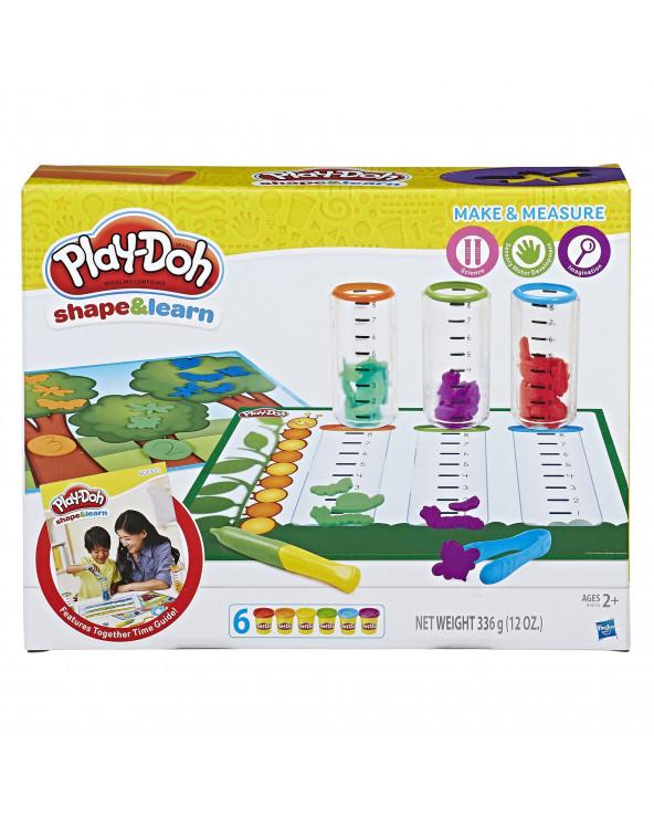 Play-Doh Moldea Y Aprende - Crea Y Mide