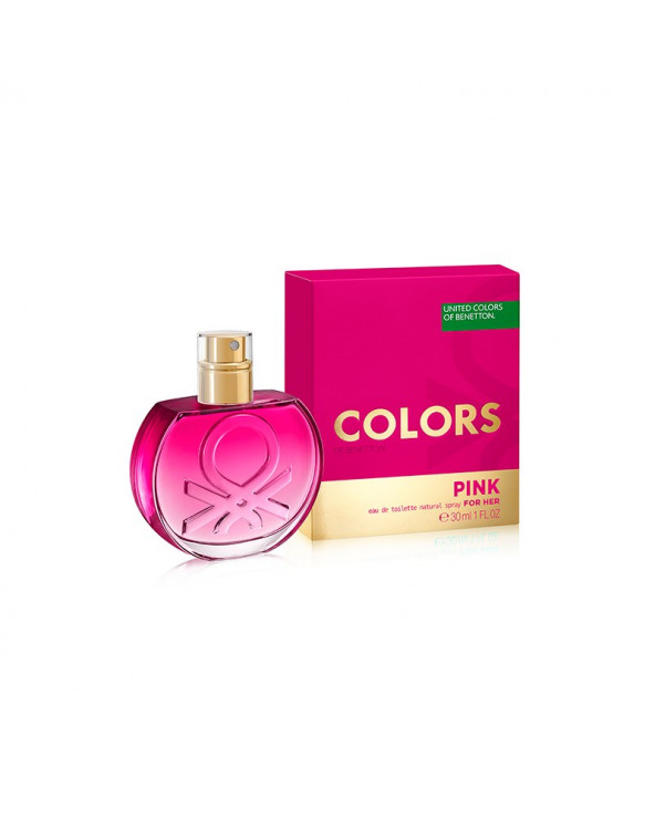 Benetton Colors Pink EDT 30...