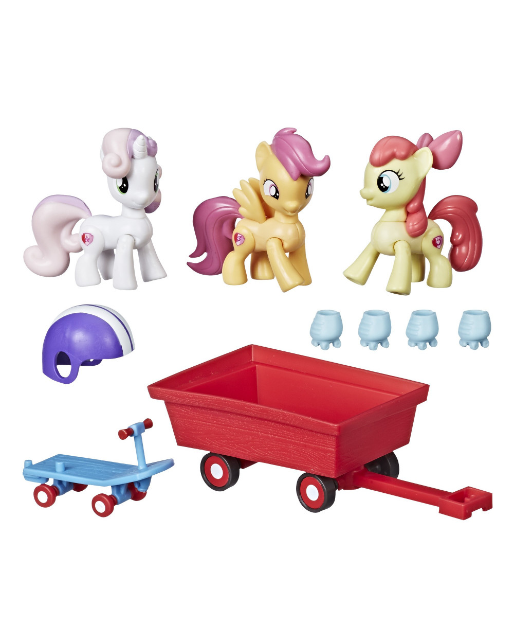 My Little Pony Cutie Mark Crusaders De Paseo
