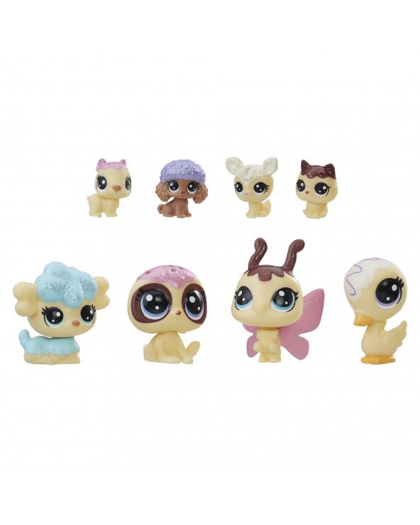 Little Pets Shop Colección Dulce Cobertura 8 Mascotas