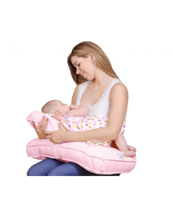 Maternelle Doble Almohada De Lactancia Diseño 1 MAT-06 Rosado