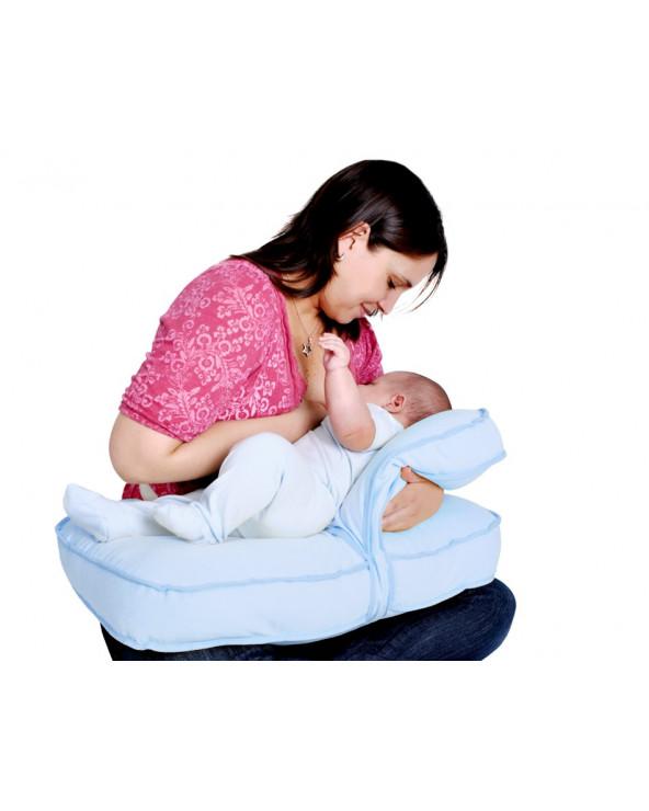 Maternelle Doble Almohada De Lactancia Diseño 2 MAT-06 Celeste