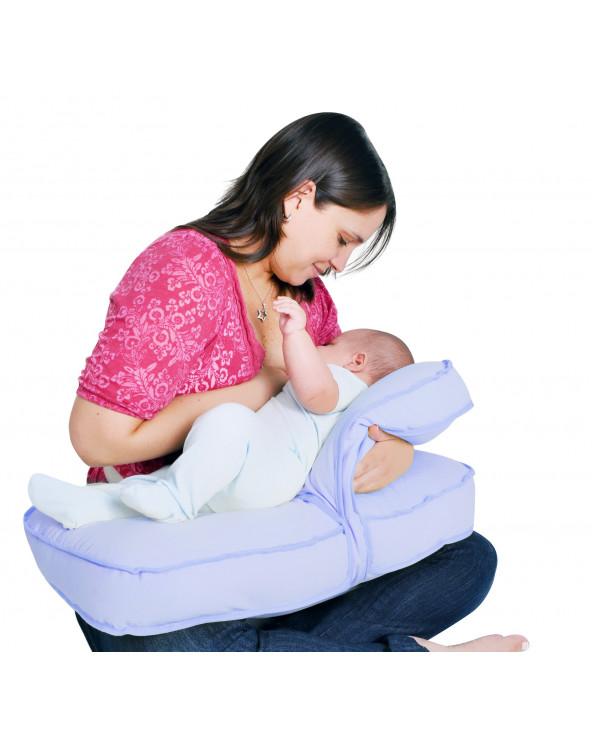 Maternelle Doble Almohada De Lactancia Diseño 4 MAT-06 Lila