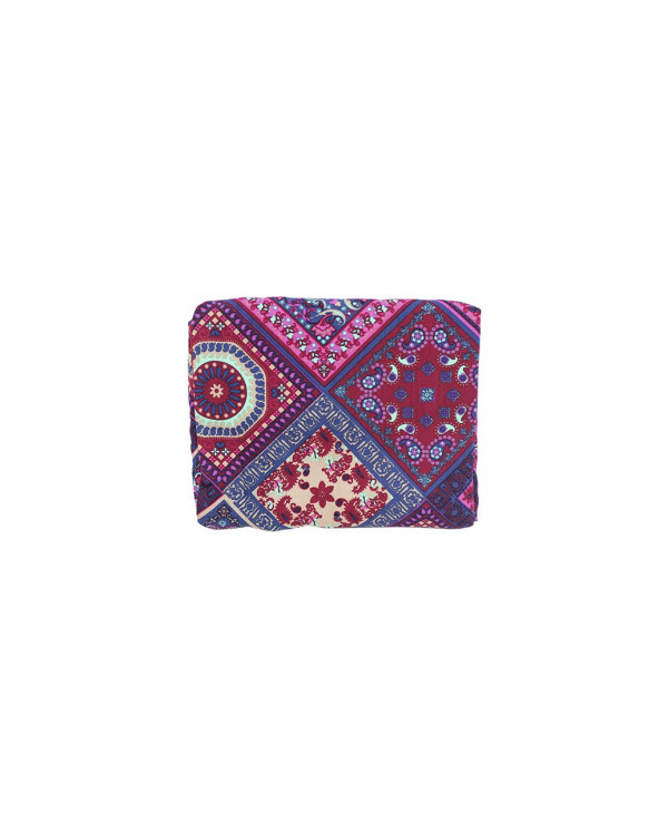Maternelle Pashmina Cobertor De Lactancia 2 En 1 Diseño 3 MAT-49 Rojo Anaranjado
