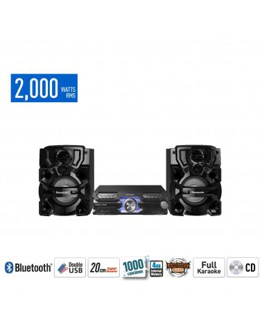 Panasonic Minicomponente SC-AKX710PUK Negro 2000W