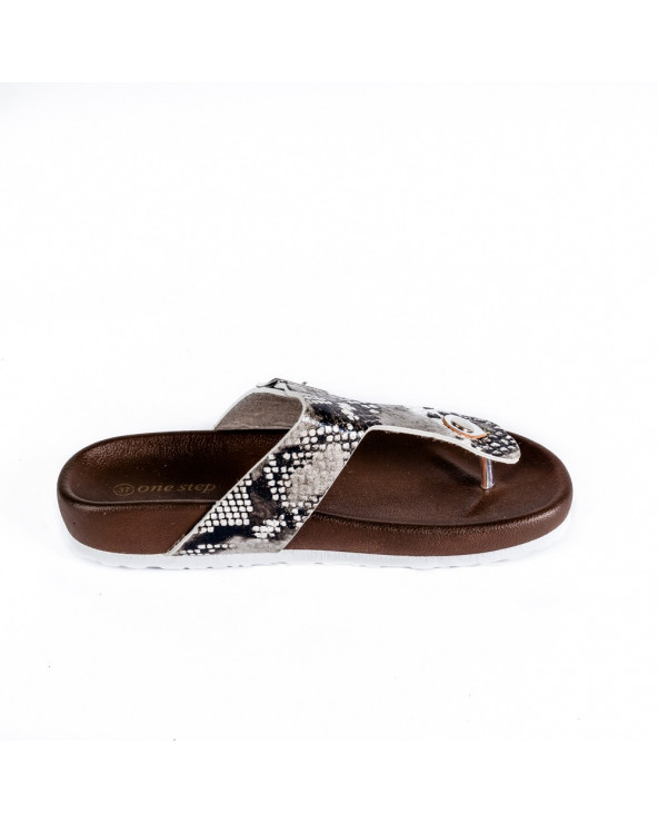 One Step Sandalia Dama Brillo 6025003