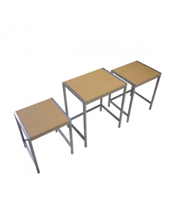 Familia set de mesas auxiliares Monserrat JX-06C03