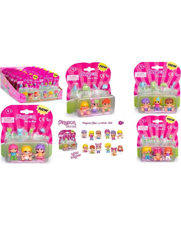Pinypon Kids & Babies CDU 700014032