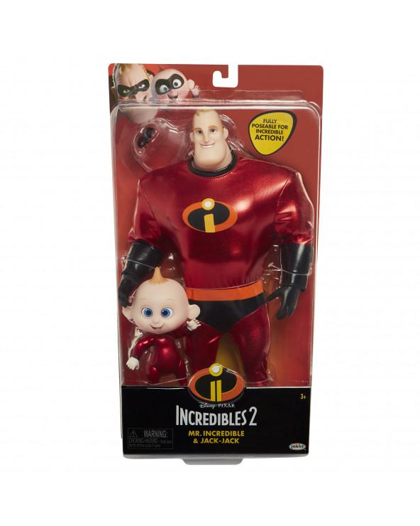 Increíbles 2 Muñeco De Acción Mr Increíble & Jack Jack 76597