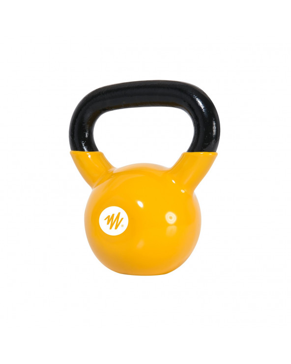 Muvo By Oxford Kettlebell Vinyl 6Kg Amarillo