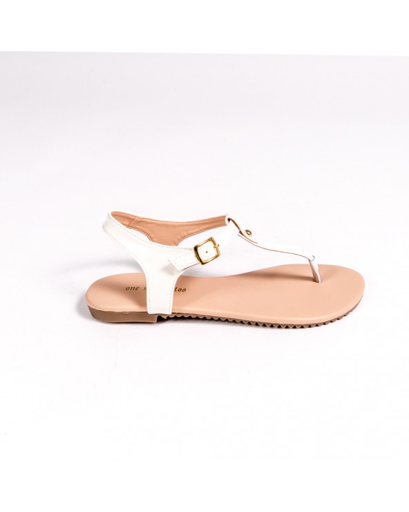 One Step Too Sandalia Dama Flat Basic