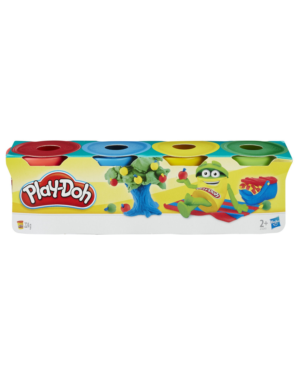 Play-Doh Pack de 4 Latas Mini 23241