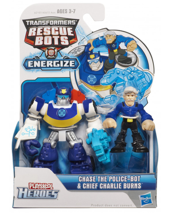 PlaySkool Transformers Rescue Bots Minicons A0672