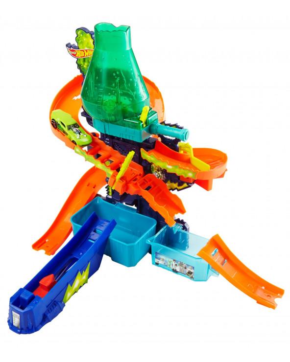 Hot Wheels Shifters Laboratorio de Ciencias Explosión de Colores CCP76