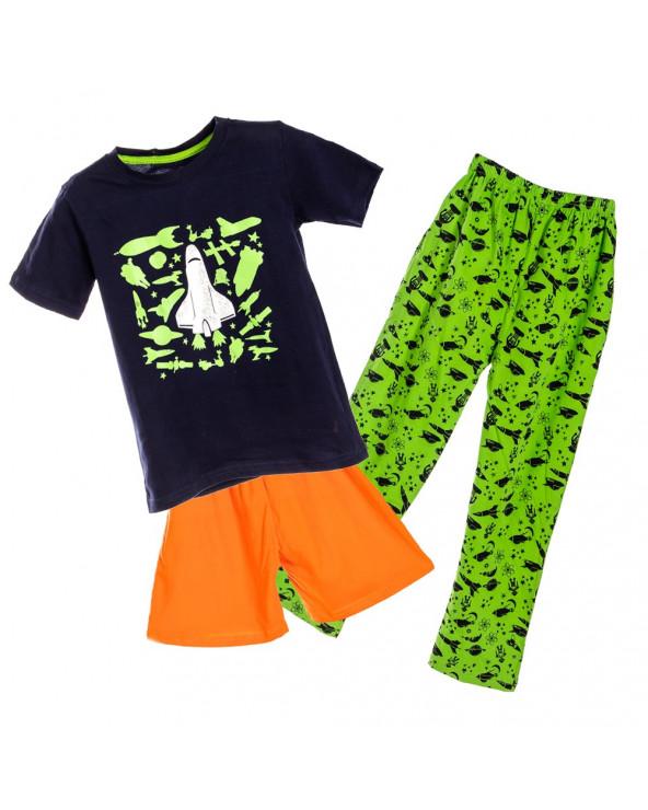 F. Twist Pijama Niño 3 Piezas Paolo