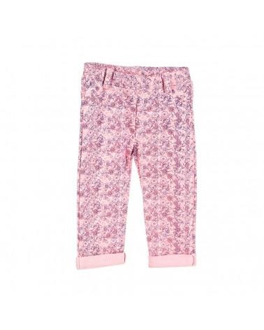 Beep-Beep Pantalón Niña Moda BG Flower Rosado