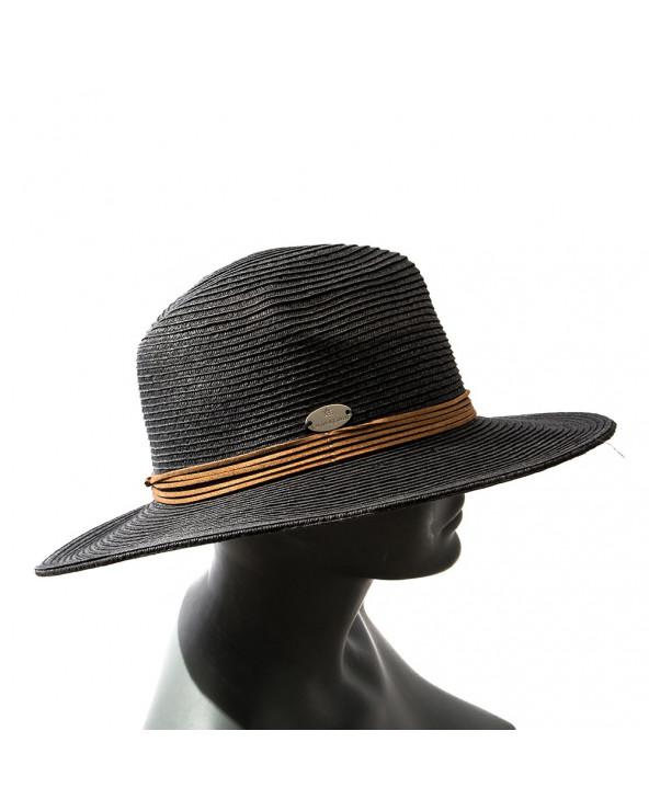 Calor & Color Sombrero Tiras Cuero ZH231-PV18 Stone