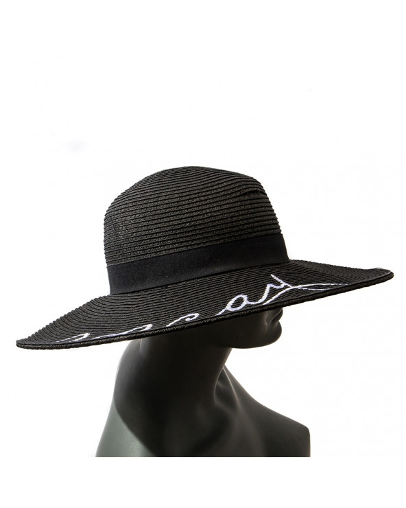 Calor & Color Sombrero Bordado - PV18 Black