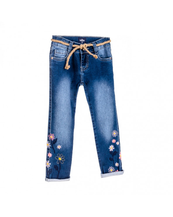 F. Twist Jean Niña Moda Fantastic Azul