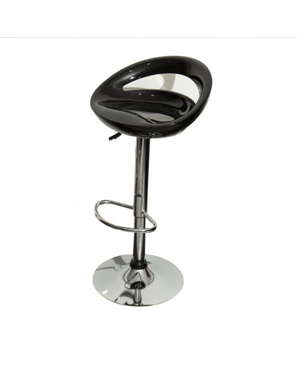 Familia Silla de Bar HC-104. Color Negro con Base