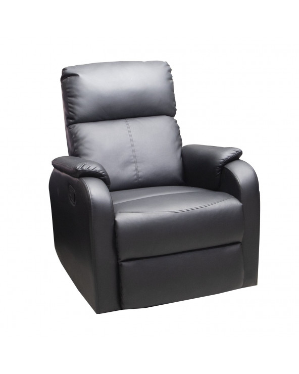 Familia Sillón Reclinable Black SX-8242-1