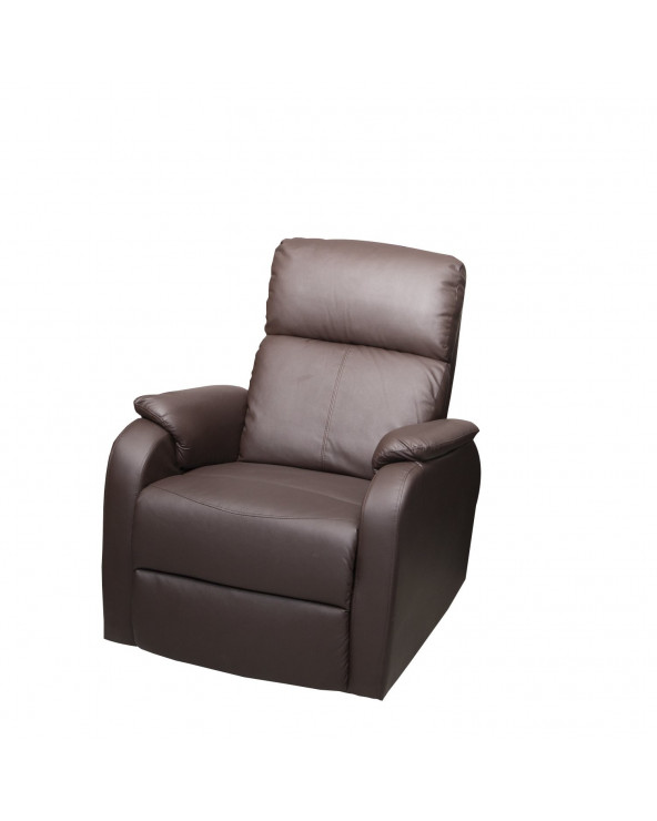 Familia Sillón Reclinable Brown SX-8242-1