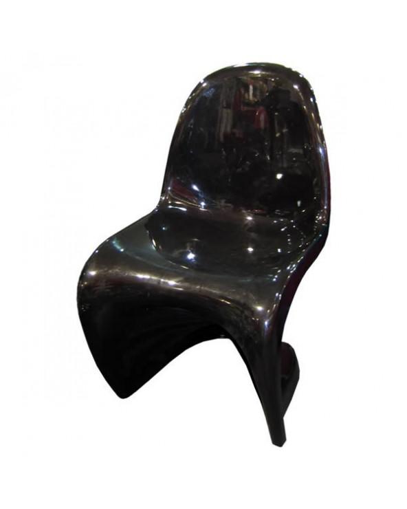 Familia Silla de Bar HC-166. Color Negro con Base