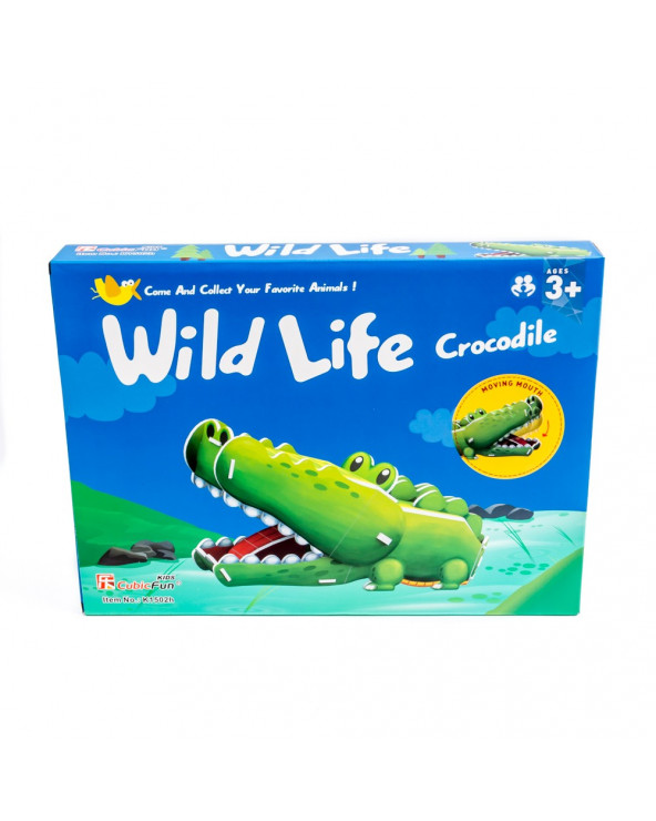 Shantou Cubic Mundo Animal Serie Cocodrilo K1502H