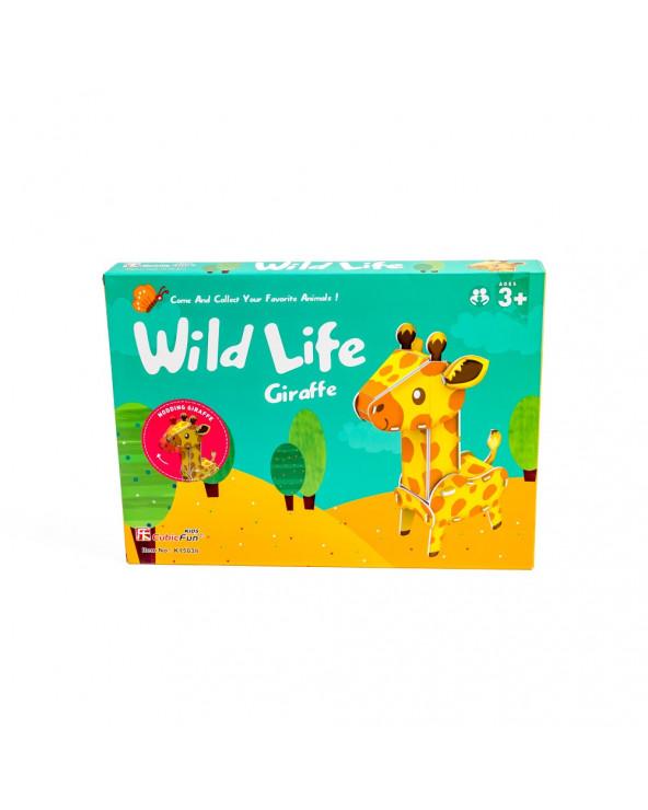 Shantou Cubic Mundo Animal Serie Jirafa K1503H