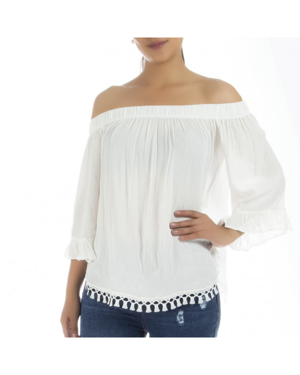 ONE STEP Blusa Vuko Blanco