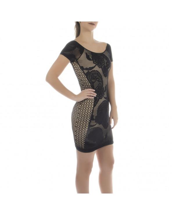 Q´Cool Vestido Textura con...