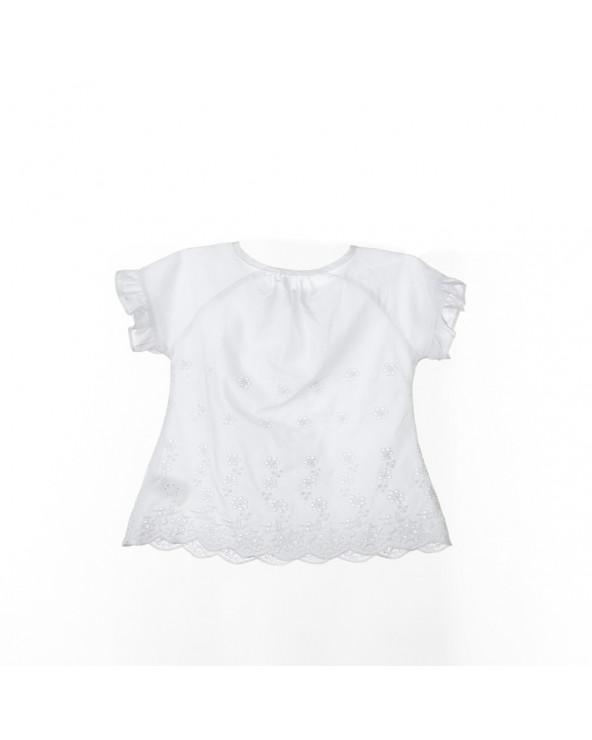 Beep-Beep Blusa Rosa BG Blanco