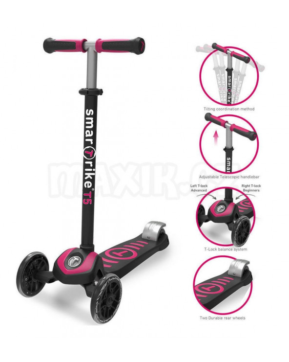 SmarTrike Scooter T5 Rosa