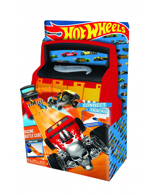 Hot Wheels case De Autos Con Multilanzador HWCC4