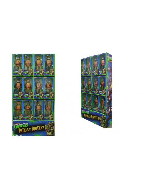 """TMNT Serie Figura Básica 12"""" XL Exhibidor Por 36 91110-36"""