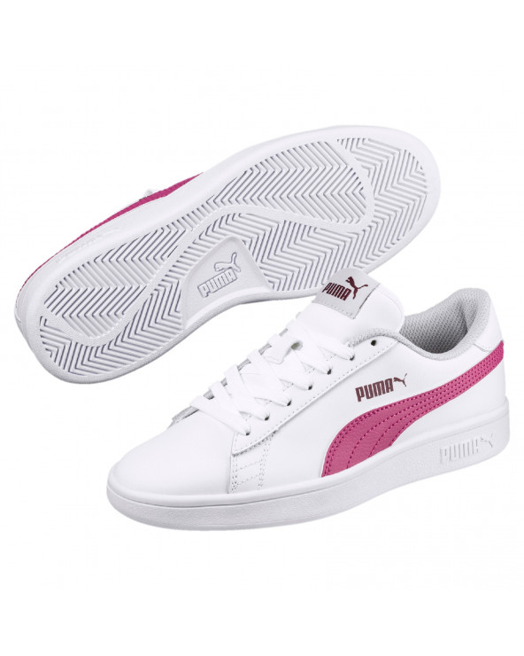 Puma Zapatilla Dama 365170 08 Smash V2 L JR Blanco