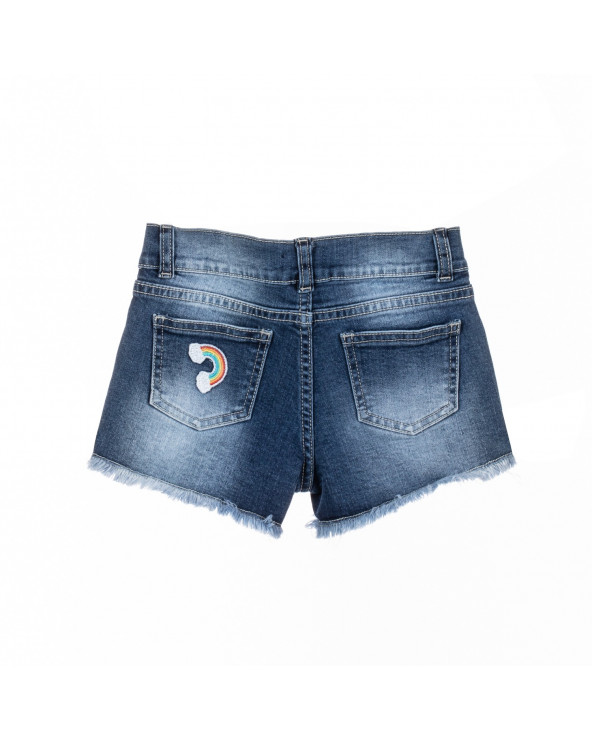 F. Twist Short Niña Denim...