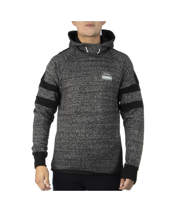 One Polera Hombre Gym Tech Stripe Overhead Hoodie