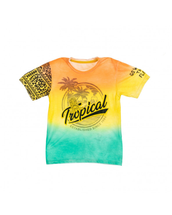F. Twist Polo Tropical Desigual