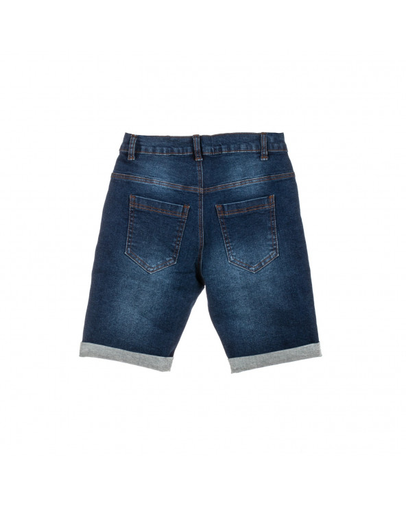 F. Twist Short Denim Basic...