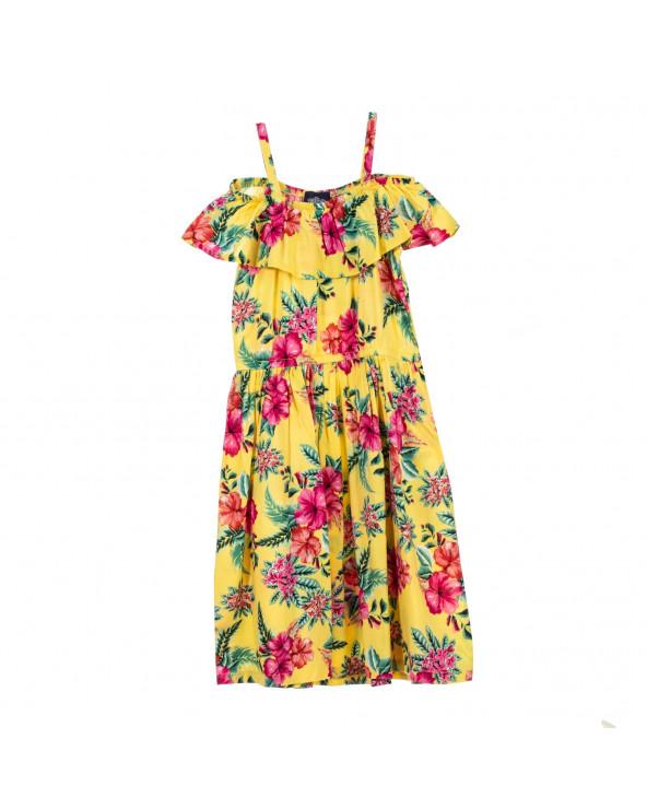 F. Twist Vestido Flower Moana