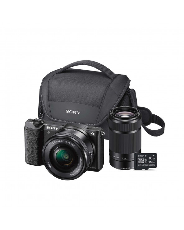 SONY KIT SEMI PROFESIONAL MIRRORLESS 5100L