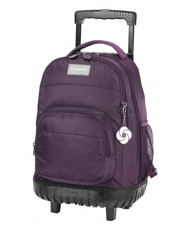 Samsonite Mochila Trolley Purple 12162017171CNU