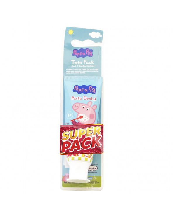 Peppa Pig Cepillo x 2 und....