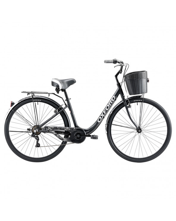 Bicicleta Oxford 304BP2854CA160 Cyclotour Negro